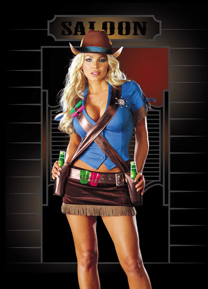 Dreamgirl Shoot 'em Up Cowgirl