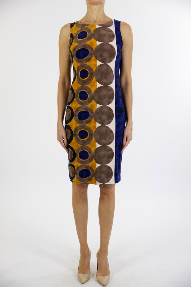 Joseph Ribkoff Disc Dress