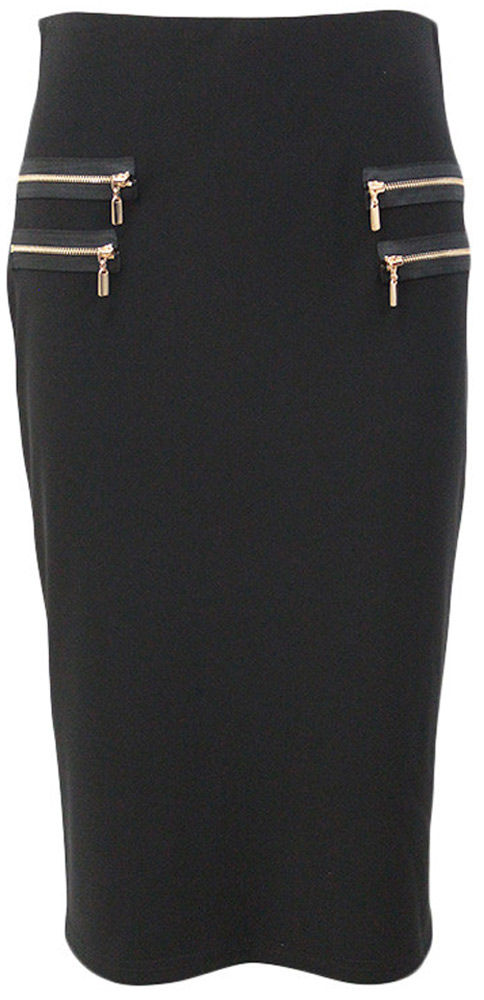 Joseph Ribkoff Zip Detail Skirt