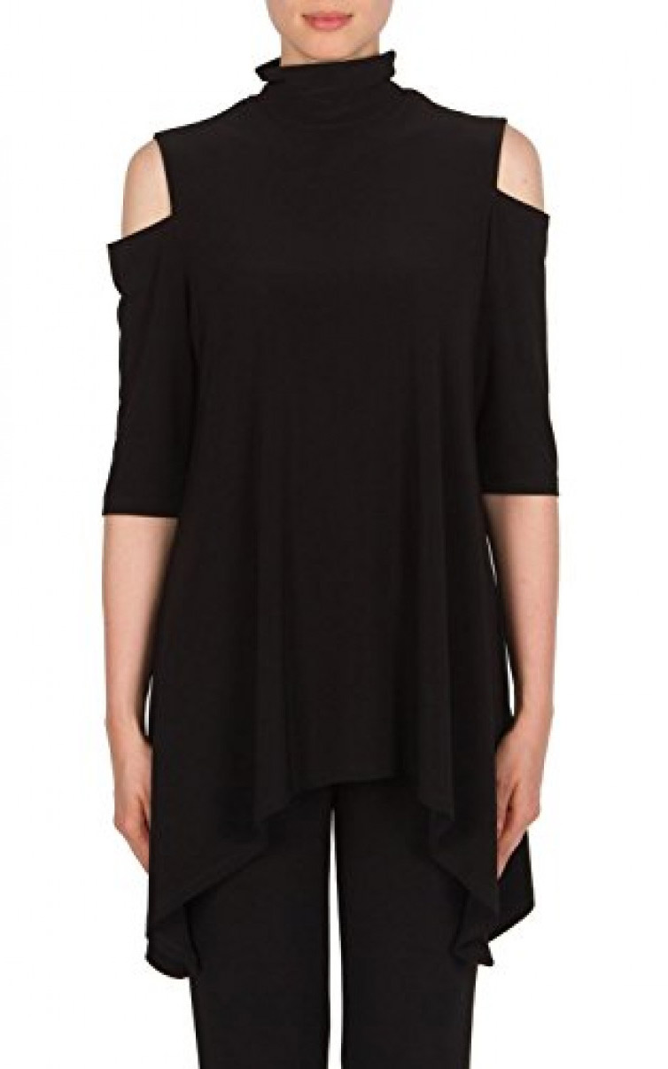 Joseph Ribkoff Cold Shoulder Tunic