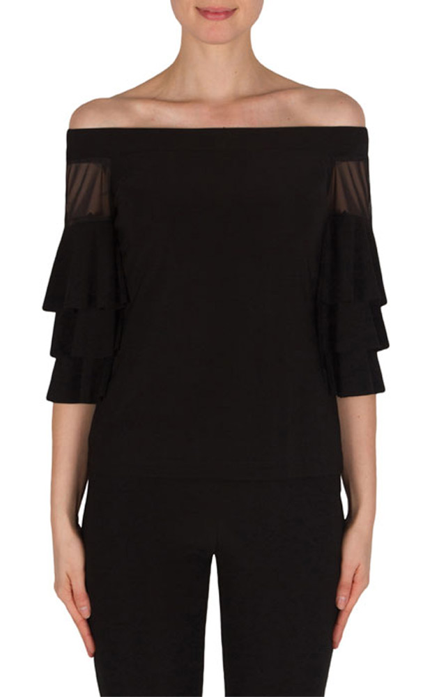 Joseph Ribkoff Off Shoulder Blouse