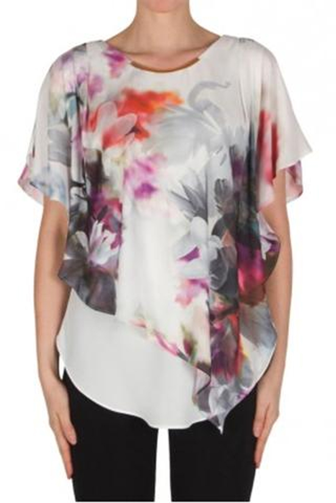 Joseph Ribkoff Watercolor Blouse
