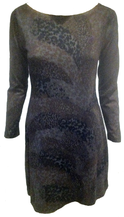 Nally & Millie Animal Print Dress