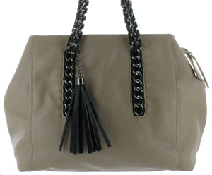 Sondra Roberts Chain Handle Tote