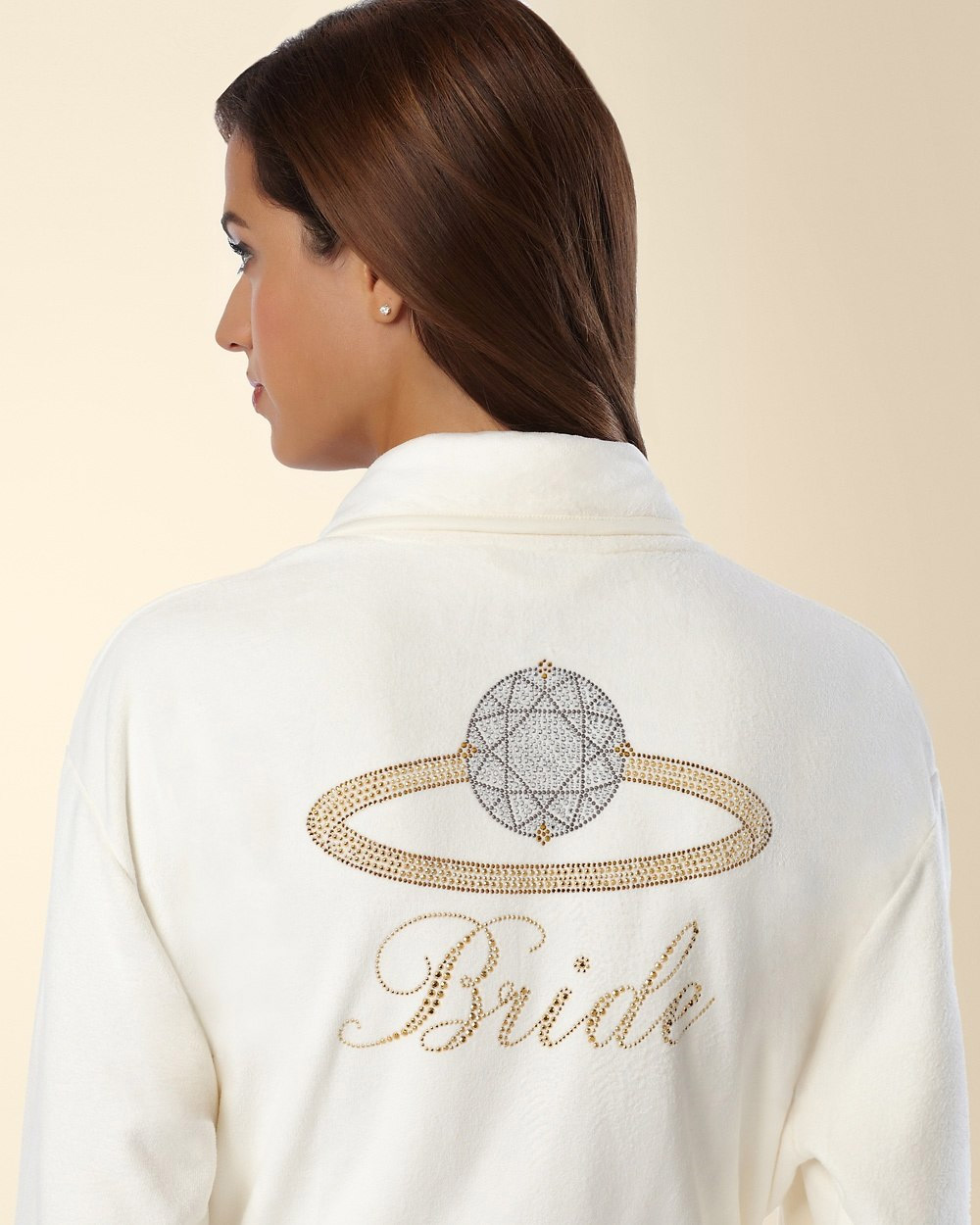 Wrap Up Bridal Robe